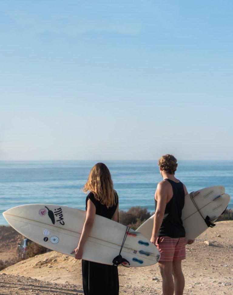 Surf guiading
